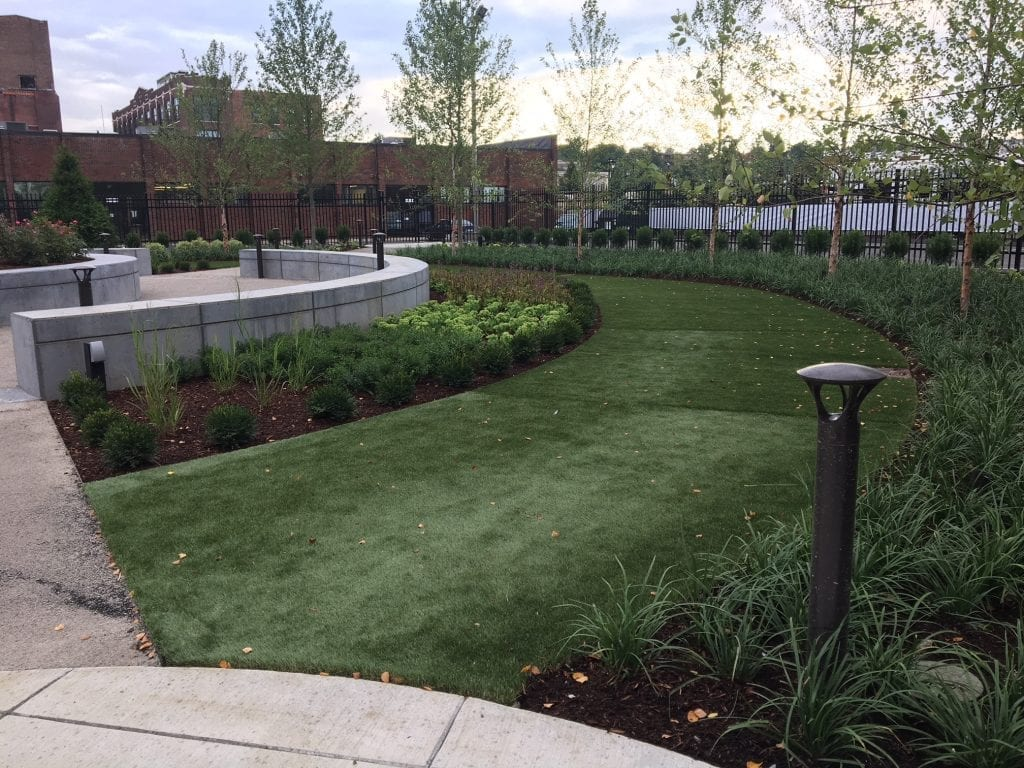 MGM Springfield Landscaping